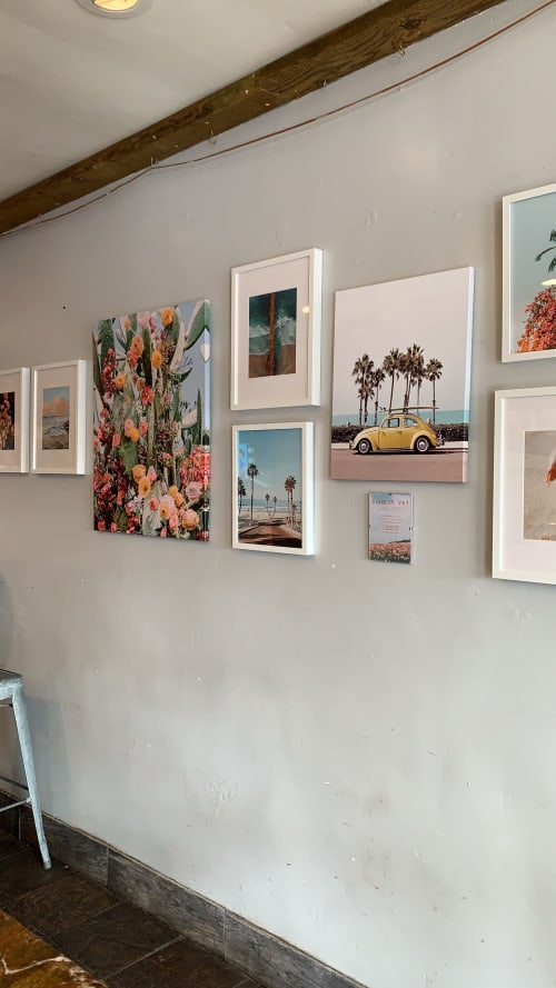Photography by The Arielle Vey Print Shop seen at The Cup Coffee, Oceanside - Adler