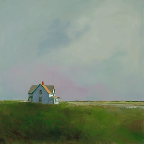 "Art & Wall Decor by YJ Contemporary seen at East Greenwich, East Greenwich - Anne Packard ""Beach House"""