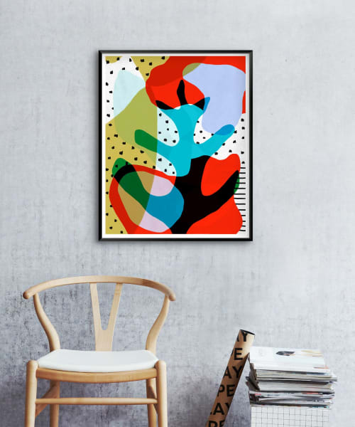 Art & Wall Decor by Nancy Purvis seen at Raleigh, Raleigh - 30 Days of Shapes