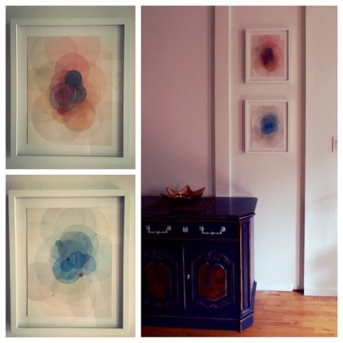 Paintings by Evan Venegas seen at Private Residence, New York - Day Maps