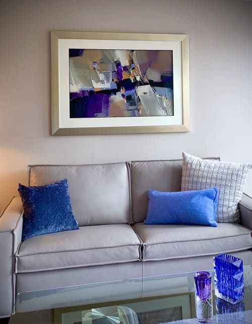 Paintings by Michael Mckee seen at Private Residence, Chicago - Urban Blues