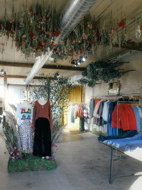 Clad & Cloth Warehouse, Stores, Interior Design
