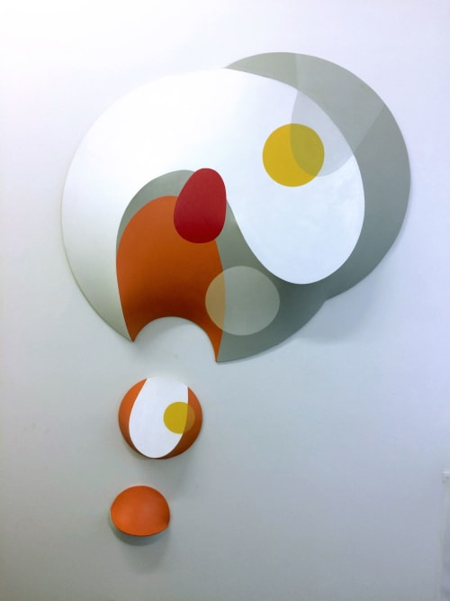 Sculptures by George Goodridge, Fine Art, Dimensional Paintings and Sculptures seen at Creator's Studio, Brooklyn - THE Complexity of Joy, 3-dimensional painting