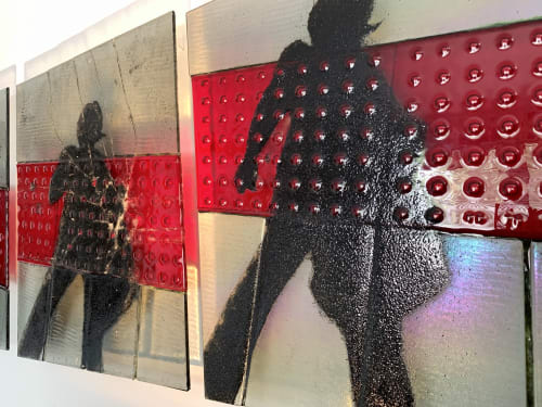 Wall Hangings by Natalie Ventimiglia seen at Private Residence, Denver - Is This A Sign?