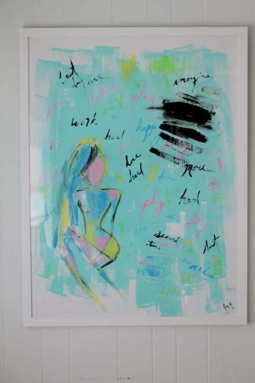 Art & Wall Decor by Jacqueline deMontravel seen at Private Residence, Darien - Miscommunication