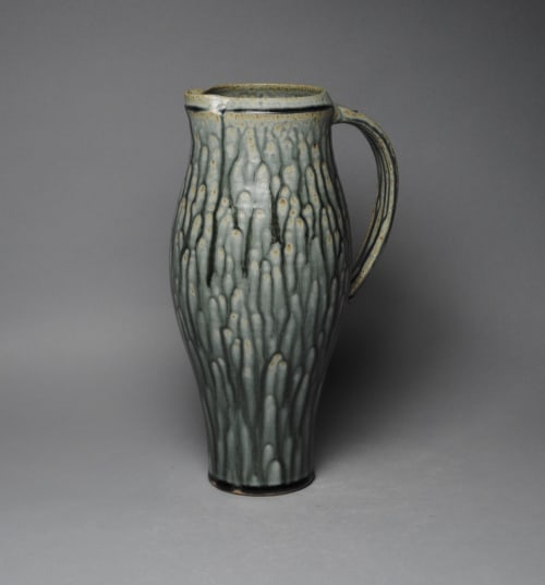 Tableware by John McCoy Pottery seen at Private Residence, Santee - Pitcher