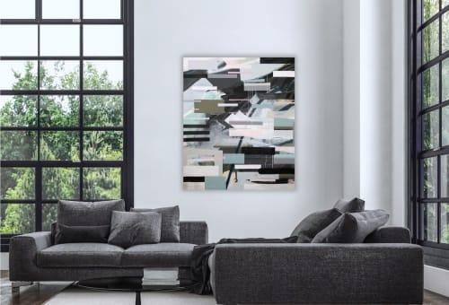Paintings by Zandra Stratford Studio seen at Creator's Studio, Victoria - Allergy Season