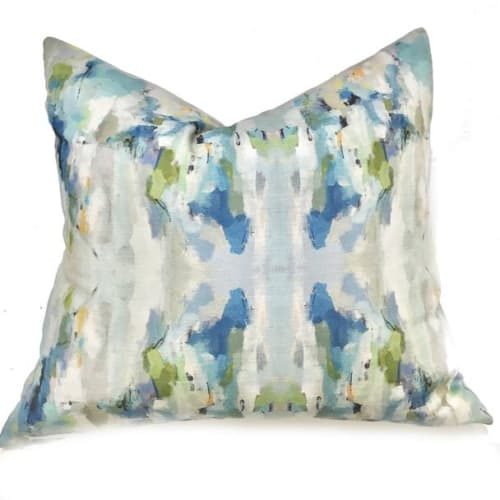 Pillows by Laura Park Designs seen at Fraiche, Richmond - Wintergreen Linen Cotton Pillow