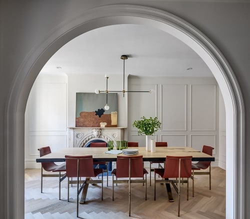 Architecture by Barker Associates Architecture Office seen at Private Residence, New York, New York - Arch House