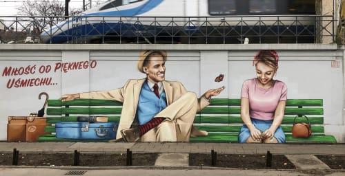 Marek Looney Rybowski - Murals and Street Murals