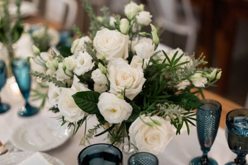 Floral Arrangements by B Floral: Event Design & Production seen at Landmarc Tribeca Events, New York - bareMinerals Dinner