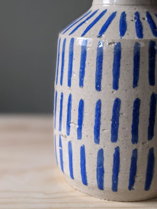 Vases & Vessels by Ceramicsbytiz seen at Creator's Studio, Tallinn - Retro style wheel thrown ceramic vases