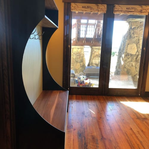 Furniture by PC Stone And Wood Design seen at Wolf Creek Ranch, Kamas - Custom Furniture