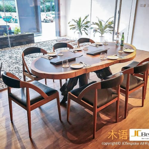 Chairs by JCBespoke Furniture seen at INITIAL初, Johor Bahru - Tables and Chairs