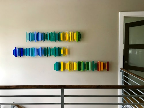 Wall Hangings by Natalie Ventimiglia seen at Private Residence, Denver - As Above, So Below