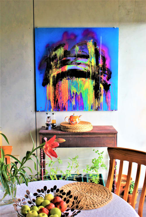 Paintings by Tommy Balogh Art seen at Ovolo Nishi, Canberra - Archway