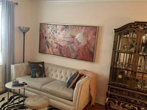 Paintings by Rae Heller seen at Private Residence, New York - Poppy