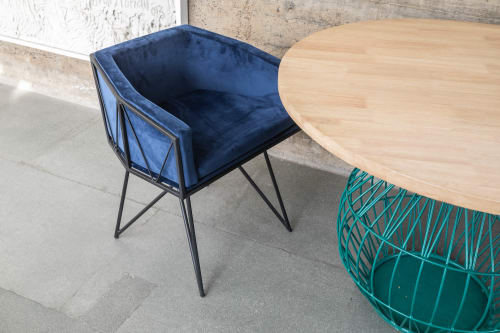 Chairs by Bombay Atelier seen at Private Residence, Mumbai, India, Mumbai - Crow Chair
