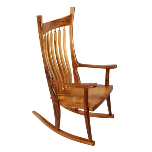 Chairs by Greg Aanes Furniture seen at Bellingham, Bellingham - Brendan Rocker