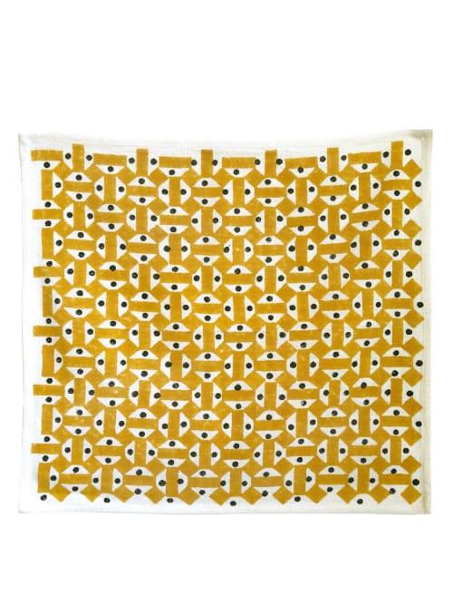 Tableware by Sunday / Monday by Nisha Mirani and Brendan Kramer seen at Wescover Gallery at West Coast Craft SF 2019, San Francisco - Mosaic Napkin - Set Of 2
