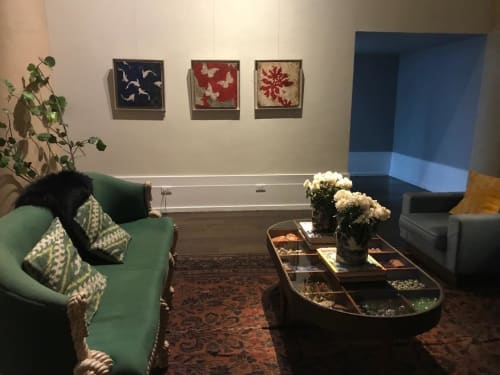 Wall Hangings by Pierre Marie Brisson seen at Manila House Private Club, Taguig - By The Sea Series