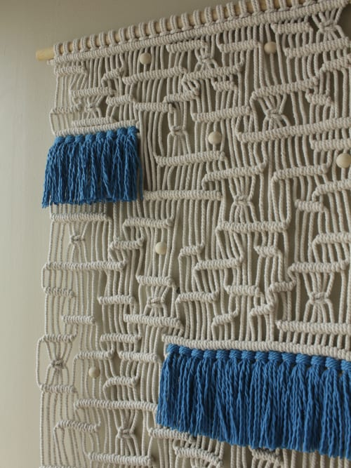 Macrame Wall Hanging by Agnes Hansella seen at Private Residence, Jakarta - MAZE