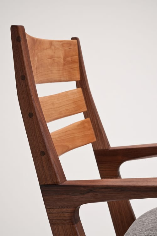 Chairs by Zillion Design seen at Private Residence, Vancouver - Cantilever Arm Chair