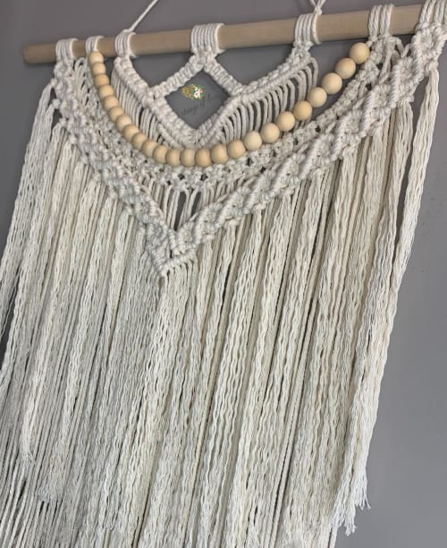 Macrame Wall Hanging by Strings of love. seen at Private Residence, Blackfalds - The Charlotte