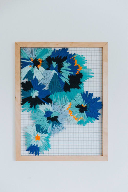 Burst | Wall Hangings by Corrie in Color