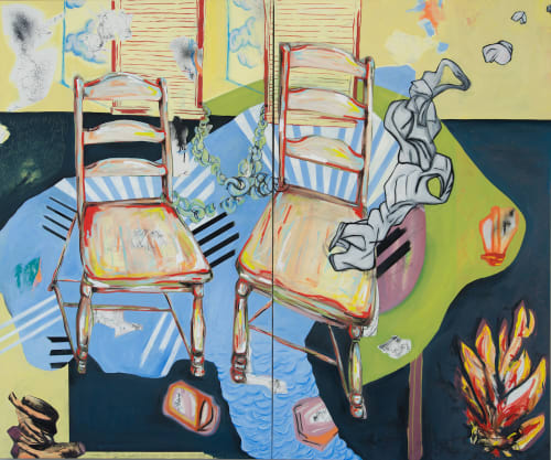 Hilary Tait Norod - Paintings and Art Curation