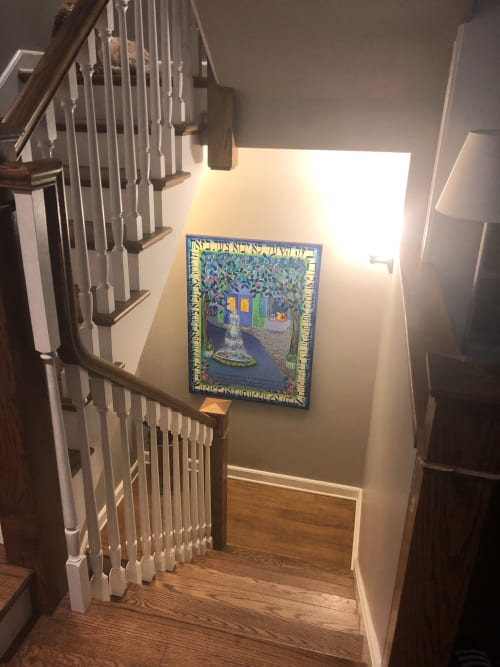 Paintings by Judith Joseph seen at Private Residence, Chicago - Peace Oasis