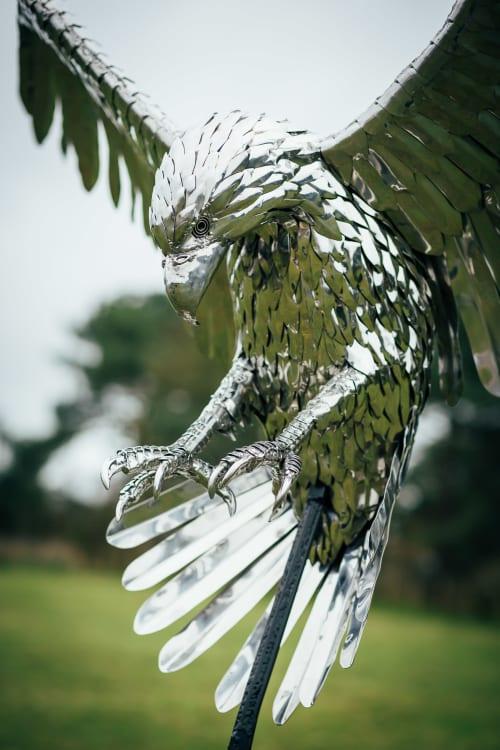 Eagle sculpture | Sculptures by Michael Turner Studios
