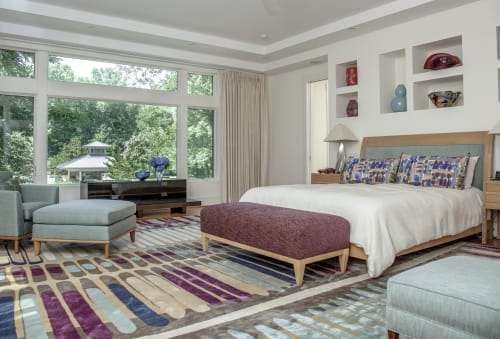 Rugs by Emma Gardner Design, LLC seen at Private Residence, North Carolina - Fire Island