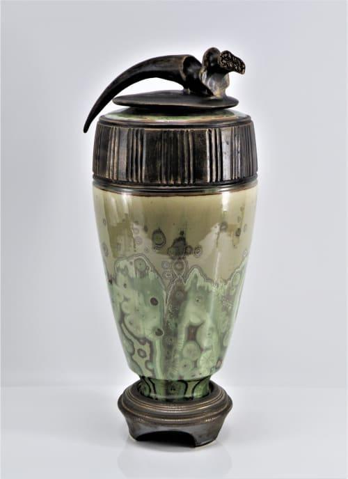 Vases & Vessels by Debra Steidel seen at Steidel Fine Art, Wimberley - Ancient Echoes
