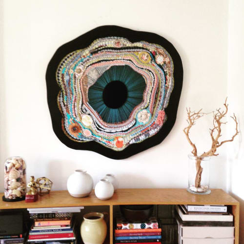 Wall Hangings by Kirsten Hassenfeld seen at Private Residence, Brooklyn - Primula