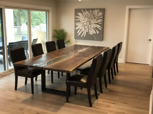 Walnut River Table - Furniture