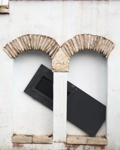 Public Sculptures by Octavi Serra seen at HAMIFFAL, Jerusalem - Second  Project (Sculpture)