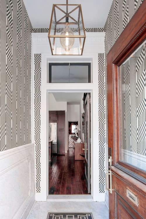 Interior Design by Glenna Stone Interior Design seen at Private Residence, Philadelphia - Rittenhouse Square Townhome