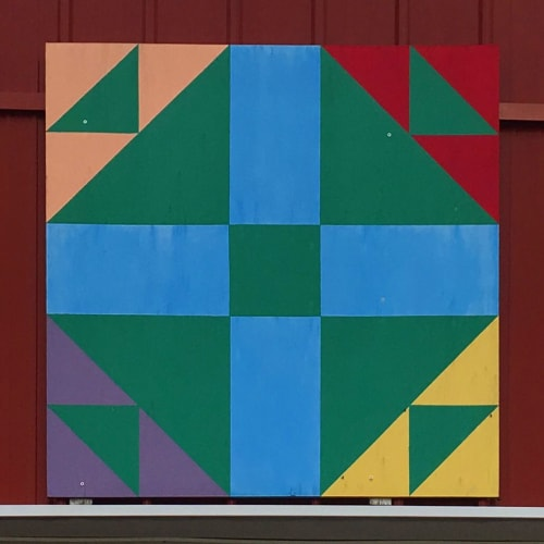 Wall Hangings by Chad Kouri seen at Private Residence, Pullman - Barn Quilts