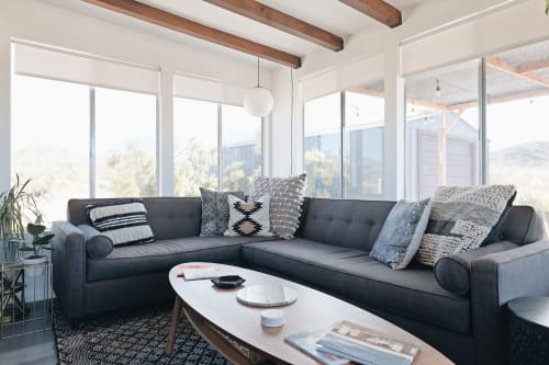 Couches & Sofas by Local Sofa seen at The Moon Cabin, Joshua Tree - Custom Sleeper Sectional