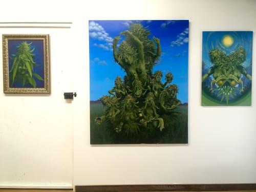 Paintings by Annie Kyla Bennett Art seen at Foundation Studios, Asheville - Medicine Heart Studio