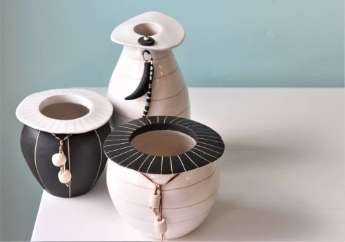 Vases & Vessels by Serena Horton seen at Chinaclay, Clovelly - Tribal Vases & Vessels