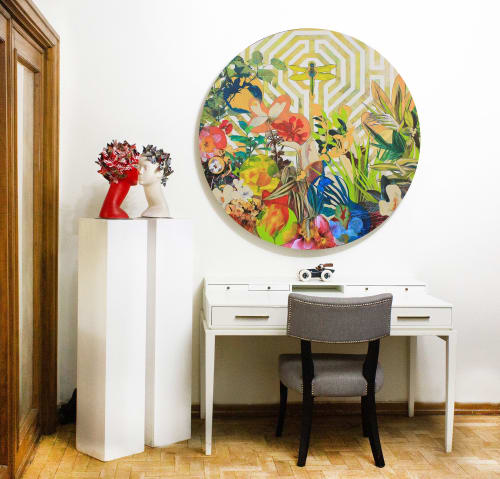 Art Curation by Luis Bivar seen at Private Residence, Cascais - Painting