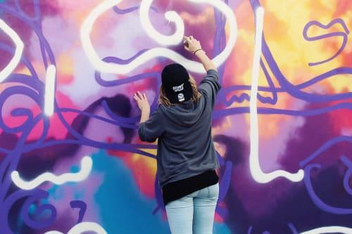 Davia King - Street Murals and Murals