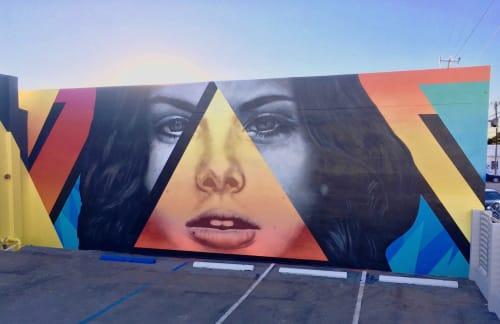 Public Art by Jason T. Graves seen at Wynwood Art District, Miami - Art Basel –  Collaboration – 2017 – Wynwood, Miami, Florida