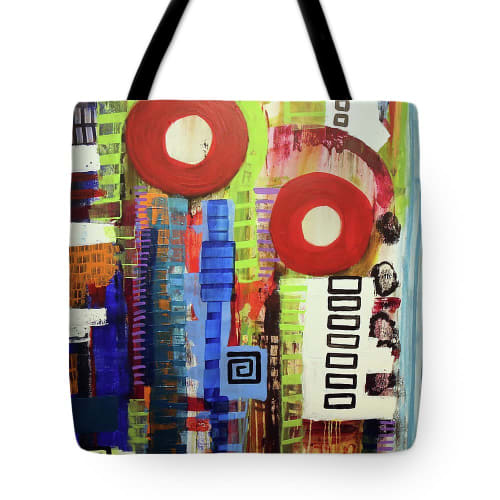 Apparel & Accessories by Lara Lenhoff Art seen at Fine Art America Print - Tote Bags