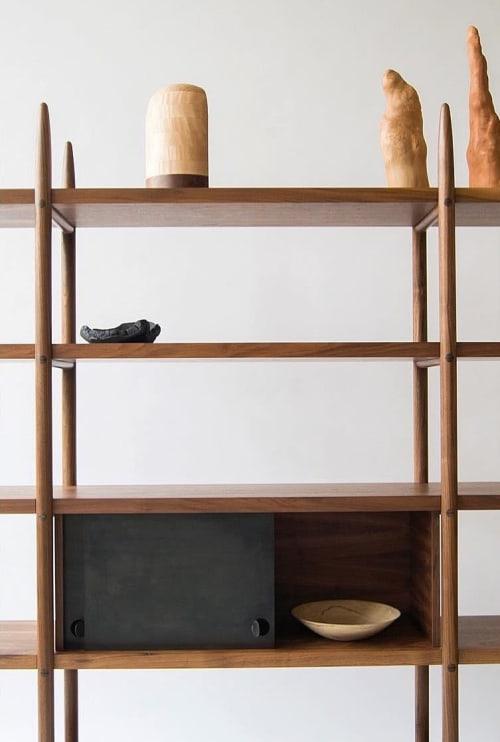 Furniture by Birnam Wood Studio seen at Private Residence, New York - Deepstep Bookshelf