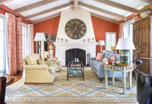 Rugs by Martin Patrick Evan seen at Private Residence, Santa Barbara - Rug