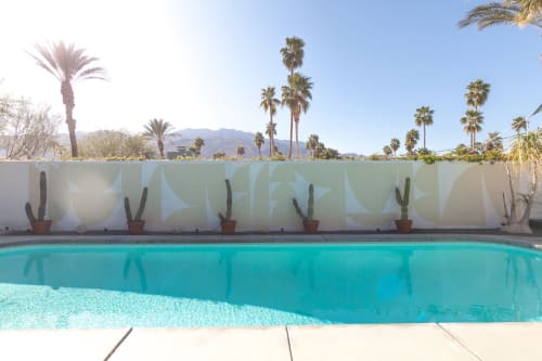 Murals by Cody Hudson seen at Palm Springs, Palm Springs - Glass Cabin Pool Mural