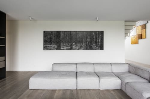 Art & Wall Decor by Inga Liksaite seen at Private Residence, Kaunas - The Forest